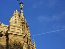 Kerk in de hemel royalty-vrije stock afbeeldingen