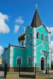 Kerk in de stad van Anapa. Stock Foto's