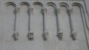 Kerk in de stad van Vladimir Stock Foto's