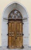 kerk Deur Royalty-vrije Stock Foto's