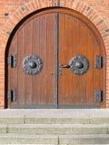kerk deur Stock Fotografie