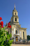 Kerk in Donetsk Royalty-vrije Stock Foto's