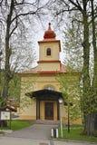 Kerk in Donovaly stock fotografie