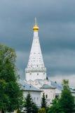 Kerk in Drievuldigheid Sergius Lavra, Sergiev Posad stock fotografie