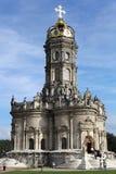 Kerk in Dubrovitsy Royalty-vrije Stock Afbeelding