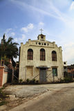Kerk in een Traditioneel Chinees Dorp Stock Afbeeldingen