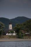Kerk en bomen Royalty-vrije Stock Afbeelding