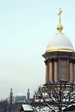 Kerk en moskee Royalty-vrije Stock Afbeelding