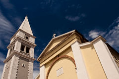 Kerk en Toren Stock Fotografie