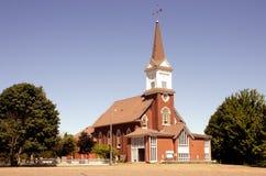 Kerk en Torenspits Stock Fotografie