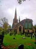 Kerk in Engeland stock afbeelding
