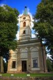 Kerk evangelisch-Augsburg van de Apostelen Peter en Paul in Wisla Polen, Silesië Royalty-vrije Stock Foto's