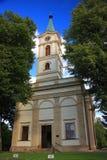 Kerk evangelisch-Augsburg van de Apostelen Peter en Paul in Wisla Polen, Silesië Stock Afbeeldingen