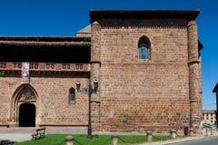 Kerk in Ezcaray Royalty-vrije Stock Foto