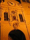 Kerk façade Royalty-vrije Stock Afbeeldingen