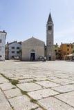 Kerk in Fazana Stock Foto's