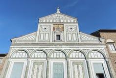 Kerk in Florence, Italië royalty-vrije stock foto