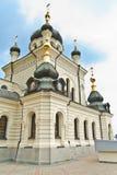 Kerk in Foros Stock Foto