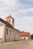 Kerk in Frankrijk Royalty-vrije Stock Fotografie