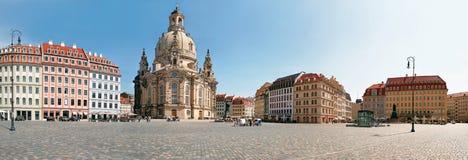 Kerk Frauenkirche, Dresden Stock Fotografie