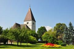 Kerk in Freiland, Stiermarken, Oostenrijk Stock Foto