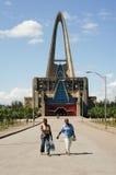 Kerk genoemd Heiligdom van Onze Dame van Altagracia in Higuey Royalty-vrije Stock Afbeelding