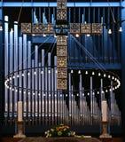 Kerk in Gentofte Stock Afbeelding