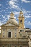 Kerk in Genua royalty-vrije stock afbeelding