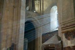 Kerk Georgië - Ananuri Royalty-vrije Stock Foto