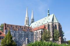Kerk in Goerlitz Stock Afbeelding
