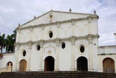 Kerk in Granada, Nicaragua royalty-vrije stock afbeelding