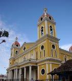 Kerk in Granada, Nicaragua royalty-vrije stock foto