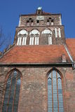 Kerk in Greifswald Royalty-vrije Stock Afbeeldingen