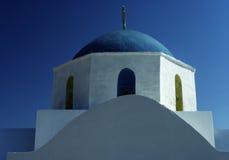 Kerk in Griekenland Royalty-vrije Stock Afbeeldingen