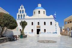 Kerk in Griekenland Royalty-vrije Stock Foto's
