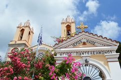 Kerk in Griekenland Stock Fotografie
