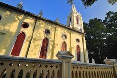 Kerk in Guangzhou, China stock afbeeldingen