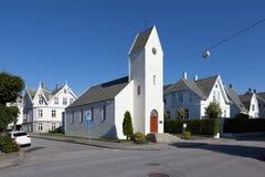 Kerk Haugesund noorwegen Royalty-vrije Stock Afbeeldingen
