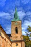 Kerk in HDR stock foto