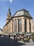 Kerk in Heidelberg stock foto's