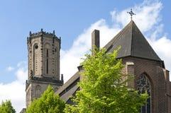 Kerk Heilige Aldegundiskirche, Emmerich am Rijn royalty-vrije stock afbeeldingen