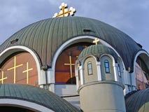 Kerk Heilige Kilment van Ohrid royalty-vrije stock fotografie