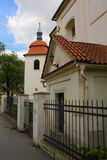 Kerk heilige Pancras - culturele monumenten van de Stad van Praag 4 Stock Foto's
