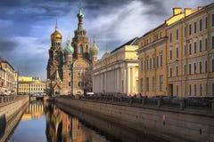 Kerk in Heilige Petersburg Stock Foto