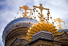 Kerk in heilige-Petersburg Stock Afbeelding