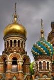 Kerk in Heilige Petersburg Stock Afbeelding