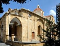 Kerk in het centrum Nicosia Stock Fotografie
