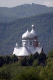 Kerk in het hout Royalty-vrije Stock Foto's