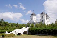 Kerk in het Klooster van Celic Dere, Roemenië Stock Fotografie