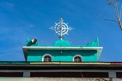 Kerk in het Noordelijke Stelae-Park van Aksum, Ethiopi? stock foto